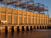 Strom-hydroerzeugung stockfotos