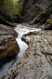 Strom im Früjahr in den Bergen von Kaukasus Stockfotos