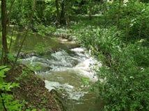 Strom im Wildwasser Stockfoto