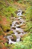 Strom mit Wasserfällen Lizenzfreie Stockfotos