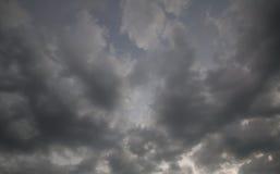 Strom molnhimmel Royaltyfri Bild