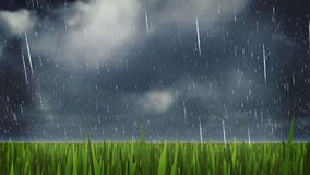 The strom and raining day  background Stock Photography