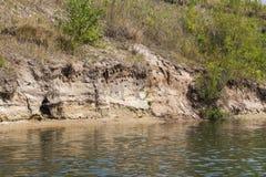 Stroma piaskowata plaża Fotografia Royalty Free