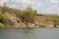 Stroma piaskowata plaża Zdjęcie Stock