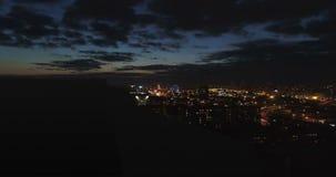 Stromausfall in der Großstadt stock footage