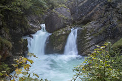 Stromboding Waterfall Royalty Free Stock Photos