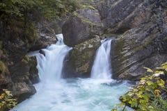 Stromboding Waterfall Stock Photography