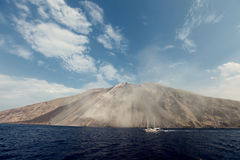 Stromboli Royalty Free Stock Image