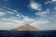 Stromboli Royalty Free Stock Images