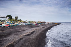 Stromboli beach Stock Images