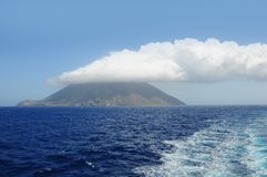 Stromboli island. Royalty Free Stock Photos