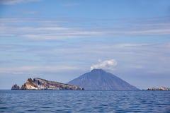 Stromboli islands Stock Photo