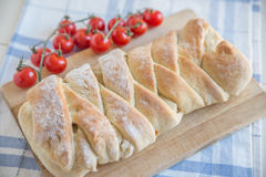 Stromboli - italian pizza bread Stock Photo