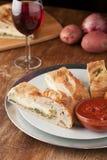 Stromboli Stuffed Bread Royalty Free Stock Images
