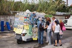 Stromboli tourism Stock Photo