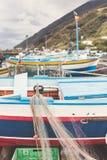 Stromboli Royalty Free Stock Images