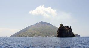 Stromboli Stock Image