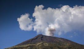 Stromboli volcano italy Royalty Free Stock Image