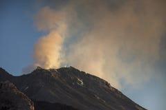 Stromboli volcano italy Royalty Free Stock Photos