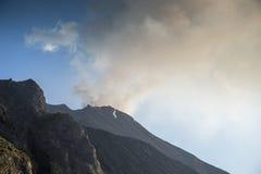 Stromboli volcano italy Royalty Free Stock Photography
