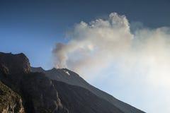 Stromboli volcano italy Stock Photography