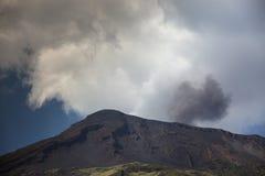 Stromboli volcano italy Royalty Free Stock Photo
