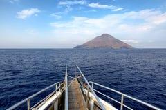 Stromboli volcano Stock Photography