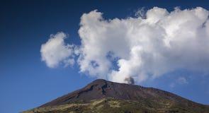 Stromboli-Vulkan Italien Stockbild
