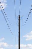 Stromdrähte Lizenzfreies Stockbild