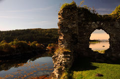 Strome Castle, Scotland. Stock Images