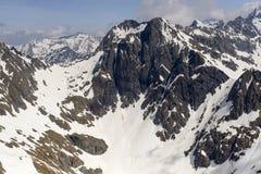 Strome falezy Tenda Diavolo szczyt, Orobie, Italy obraz royalty free