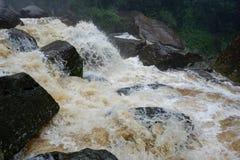 Stromen Snelle stroom van water Royalty-vrije Stock Fotografie