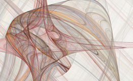 Stromend patroon als achtergrond stock illustratie