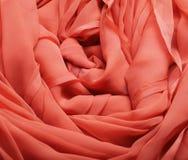 Stromende rode stof Royalty-vrije Stock Afbeelding