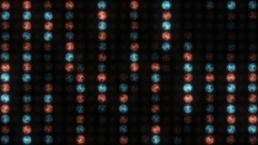 Stromende stromen van licht stock video