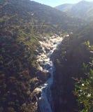Stromende stroom in de bergen Royalty-vrije Stock Afbeelding