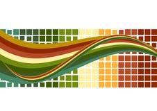Stromende vector Royalty-vrije Stock Fotografie
