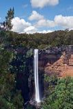 Stromende waterval in tropisch Australië Royalty-vrije Stock Foto