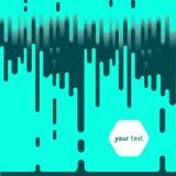 Stromende waterval van kleur kleurrijk helder ontwerp vector illustratie