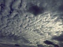Stromende wolken Royalty-vrije Stock Foto