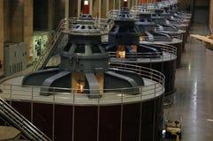 Stromerzeugung-Turbinen Lizenzfreies Stockbild