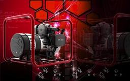 Stromgenerator lizenzfreie abbildung