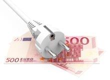 Stromkosten Stockfotografie