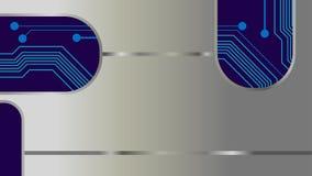 Stromkreis Digital abstrakter mainboard Vektor Lizenzfreie Stockbilder