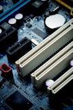 Stromkreisbordcomputerhintergrund Lizenzfreies Stockbild