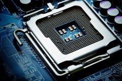 Stromkreisbordcomputerhintergrund Lizenzfreie Stockfotografie