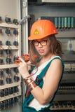 Stromkreisinstallateur #3 Stockfotografie