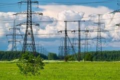 Stromleitung Lizenzfreie Stockfotos