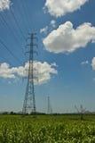 Stromleitung Lizenzfreie Stockfotografie