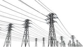 Stromleitung vektor abbildung